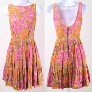 TRACY FEITH for TARGET Cotton Floral Dress-Size 9